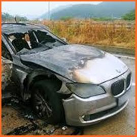 BMW 火災 車種