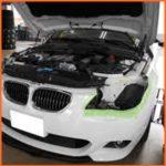 E61(BMW)エアサス故障の前兆や修理時に同時交換すべき部品